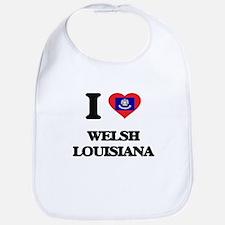 I love Welsh Louisiana Bib