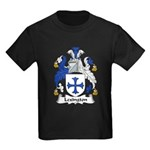 Lexington Family Crest Kids Dark T-Shirt