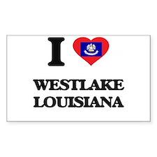 I love Westlake Louisiana Decal