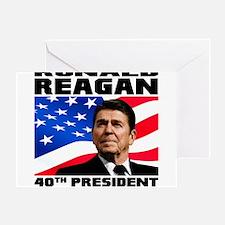40 Reagan Greeting Card