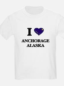 I love Anchorage Alaska T-Shirt
