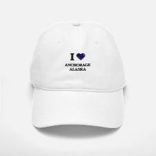 I love Anchorage Alaska Baseball Baseball Cap