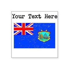 Old St Helena Flag Sticker