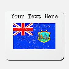 Old St Helena Flag Mousepad