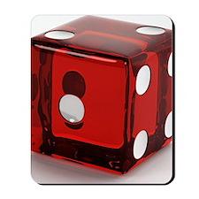 Red Die Mousepad