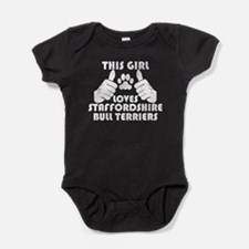 This Girl Loves Staffordshire Bull Terriers Baby B