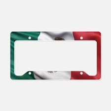 Mexico flag License Plate Holder