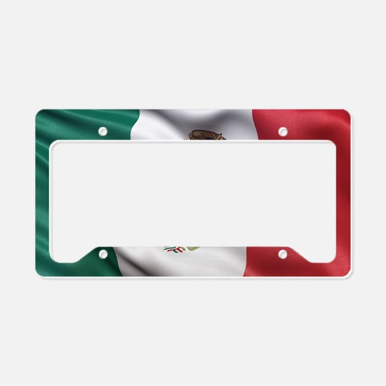 Mexico flag License Plate Holder