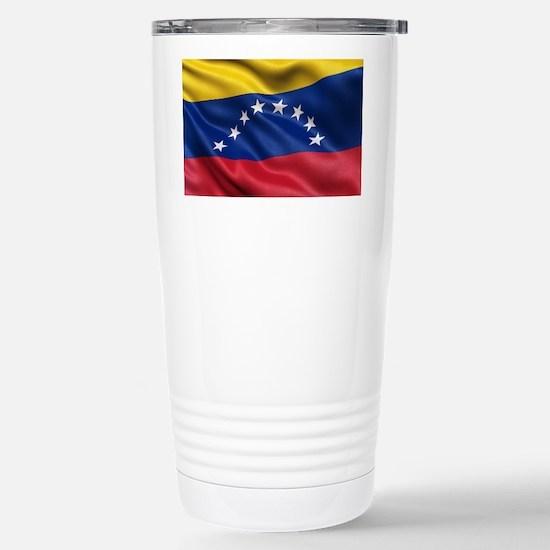 Flag of Venezuela Stainless Steel Travel Mug