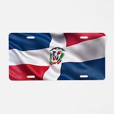 Dominican Republic flag Aluminum License Plate