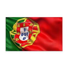 Portugal flag Rectangle Car Magnet