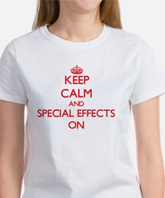 Keep Calm and SPECIAL EFFECTS ON T-Shirt