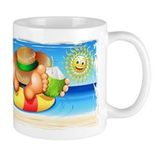 Summer Relax on the Sea Mugs