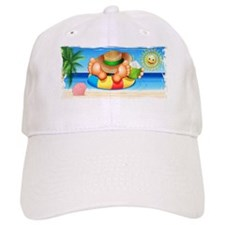 Summer Relax on the Sea Baseball Baseball Cap