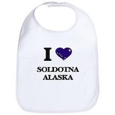 I love Soldotna Alaska Bib