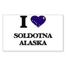 I love Soldotna Alaska Decal