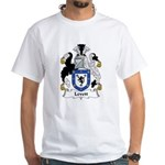 Levett Family Crest White T-Shirt