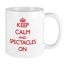 Keep Calm and Spectacles ON Mugs