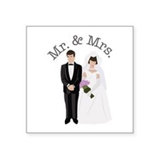 Mr.& Mrs. Sticker