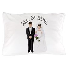 Mr.& Mrs. Pillow Case