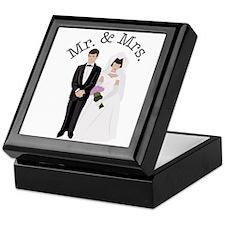 Mr.& Mrs. Keepsake Box