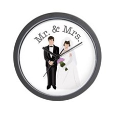 Mr.& Mrs. Wall Clock