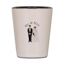 Mr.& Mrs. Shot Glass