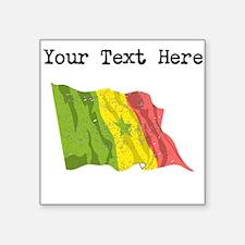 Senegal Flag Sticker
