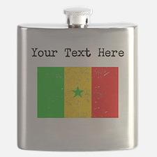 Senegal Flag Flask