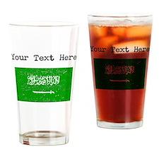 Saudi Arabia Flag Drinking Glass