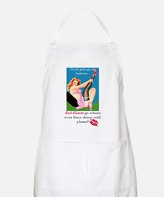 Redheads Go Anywhere BBQ Apron