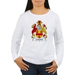 Lennard Family Crest Women's Long Sleeve T-Shirt