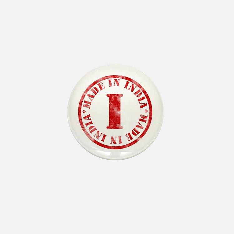 Made in India Mini Button