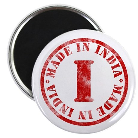 """Made in India 2.25"""" Magnet (10 pack)"""