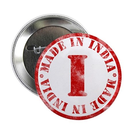 Made in India Button