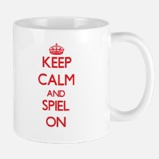 Keep Calm and Spiel ON Mugs