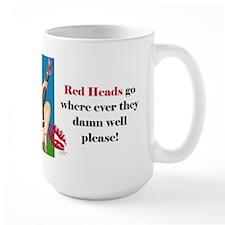 Redheads Go Anywhere Mug