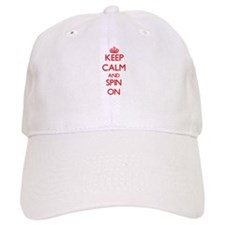 Keep Calm and Spin ON Baseball Cap