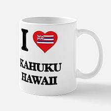 Cute Kahuku hawaii Mug