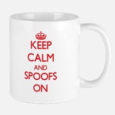 Keep Calm and Spoofs ON Mugs