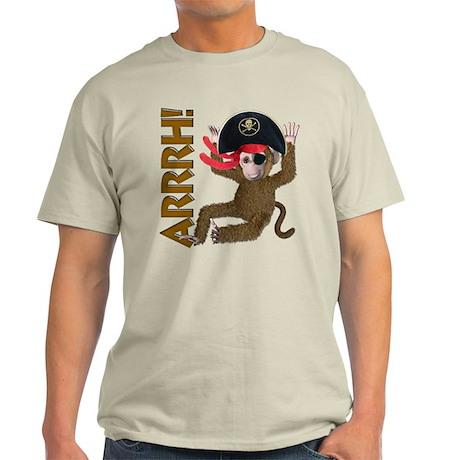 Pirate Monkey Light T-Shirt