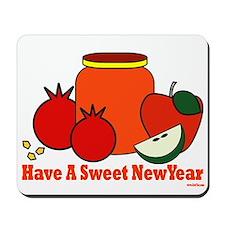 Jewish Sweet New Year Mousepad