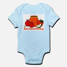 Jewish Sweet New Year Infant Bodysuit