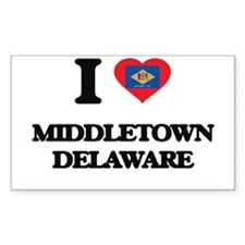 I love Middletown Delaware Decal