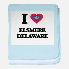 I love Elsmere Delaware baby blanket