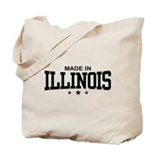 Made in Illinois Tote Bag
