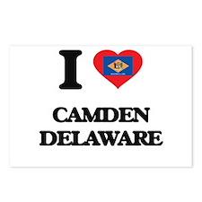 I love Camden Delaware Postcards (Package of 8)