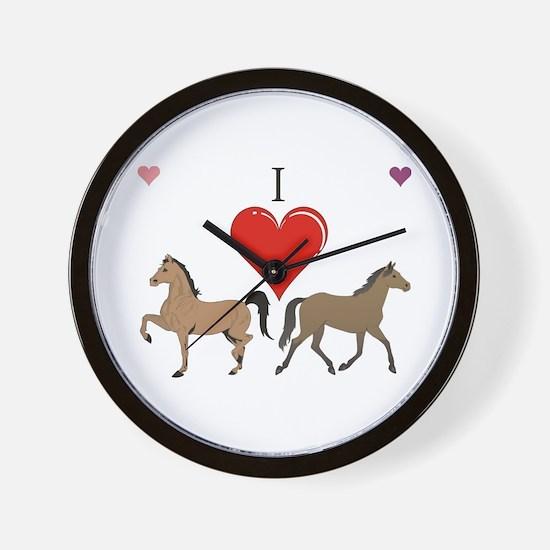 Horse lover Wall Clock
