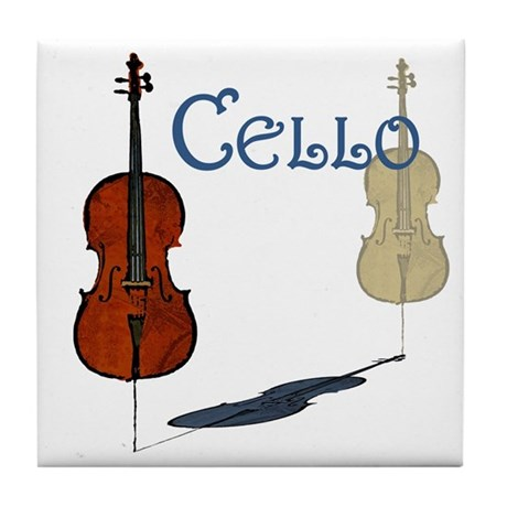 Cello Art Tile