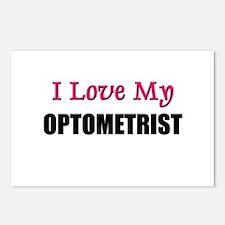 I Love My OPTOMETRIST Postcards (Package of 8)